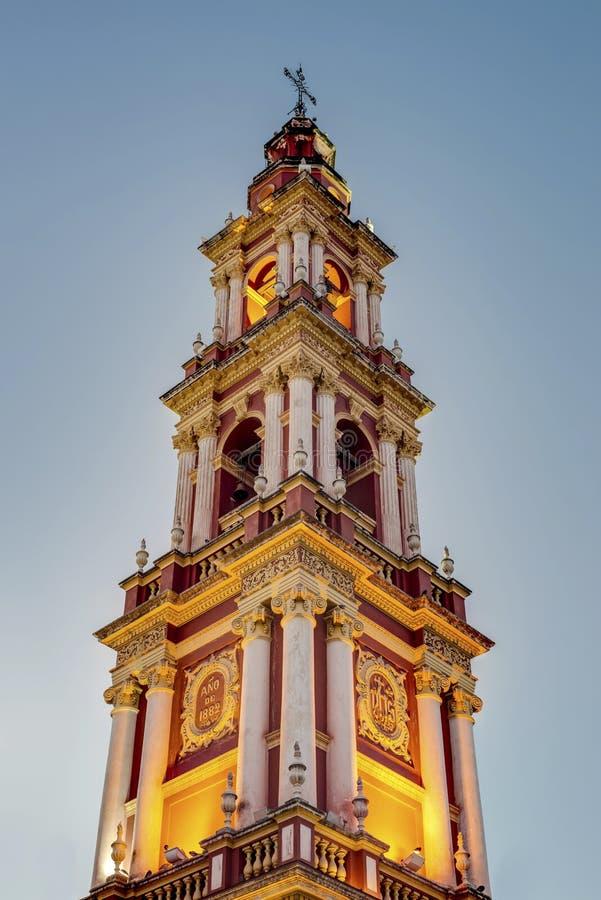 San Francisco in de stad van Salta, Argentinië royalty-vrije stock afbeeldingen