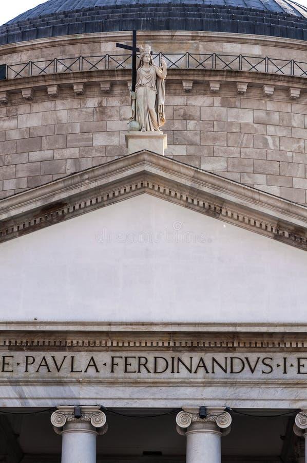 San Francisco di Paola imagen de archivo libre de regalías
