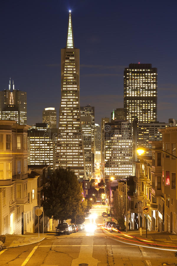 Download San Francisco Downtown. Stock Images - Image: 17661664