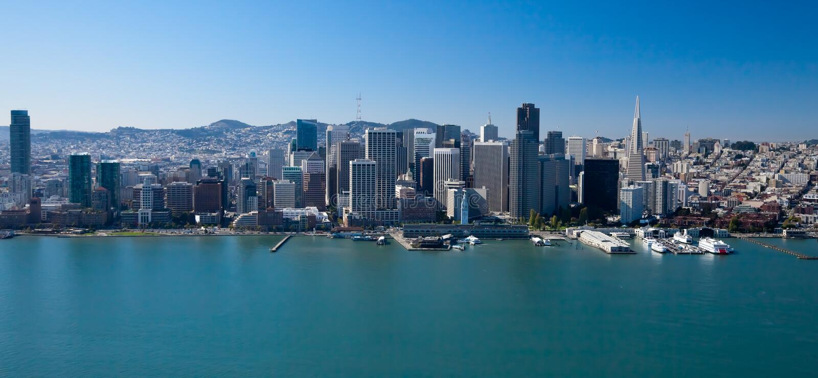 San Francisco Downtown royalty free stock images
