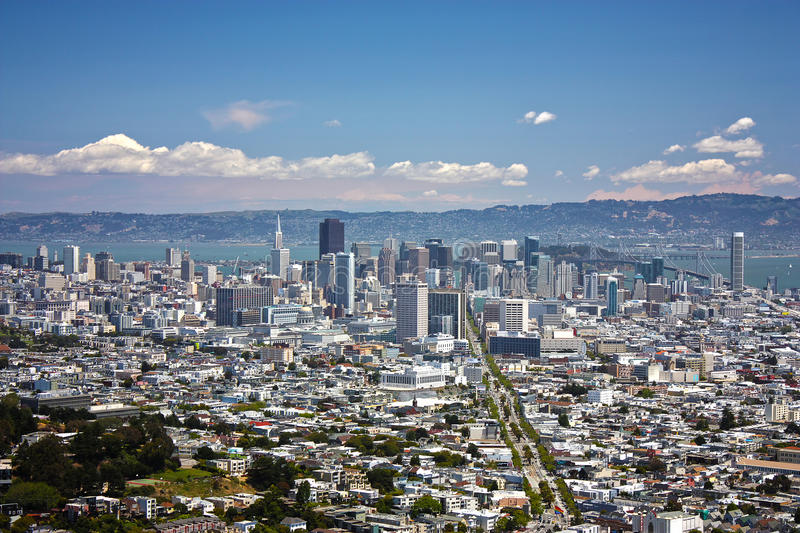 Download San Francisco downtown stock image. Image of california - 25720175