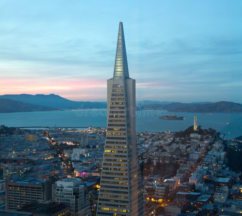 San Francisco Downtown stock photo