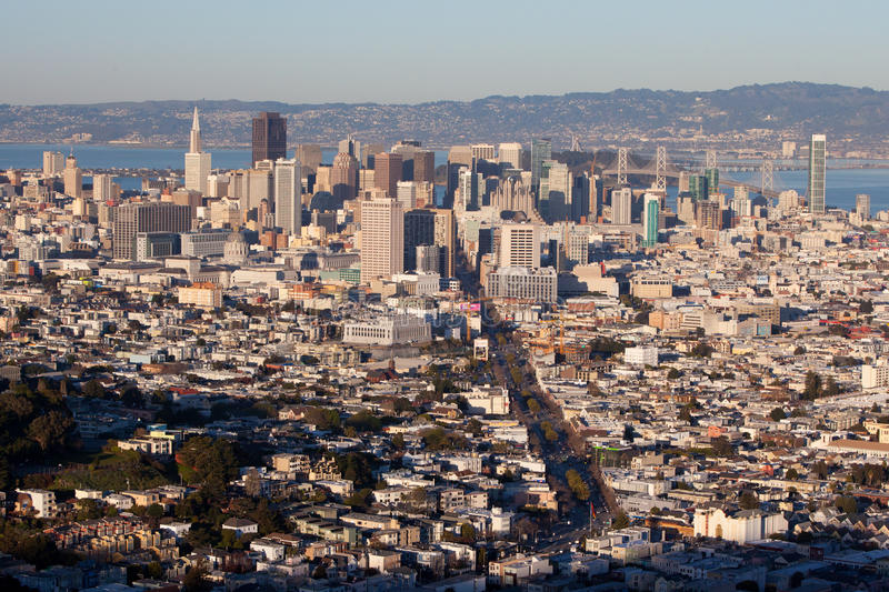 Download San Francisco Downtown Area Stock Image - Image: 33529663
