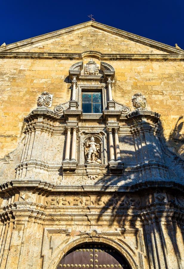 San Francisco e igreja de Eulogio em Córdova, Espanha fotografia de stock