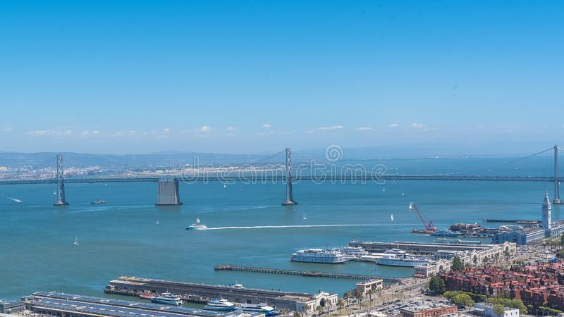 San Francisco, Embarcadero stock foto