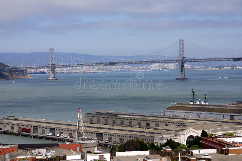 San Francisco en Oakland stock afbeeldingen