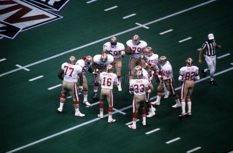 San Francisco 49ers images stock