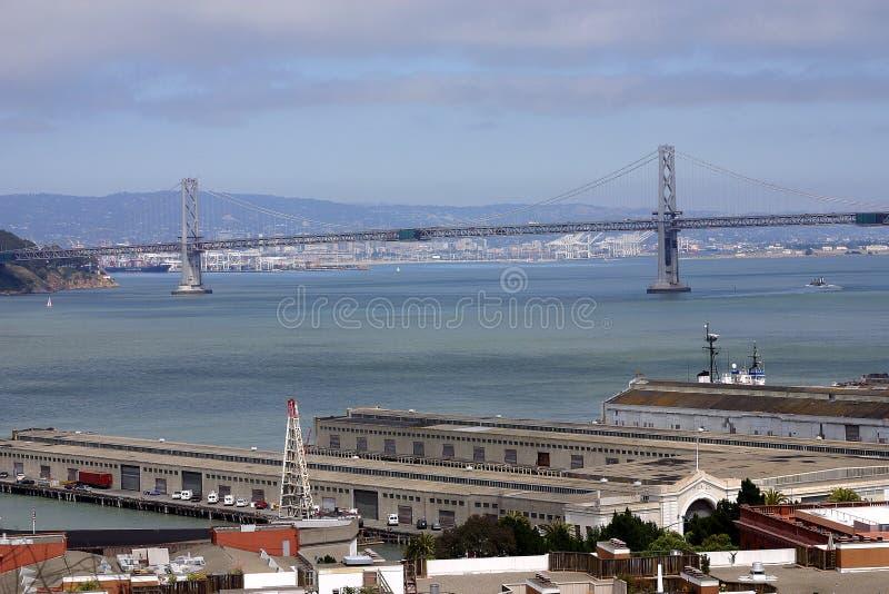 San Francisco et Oakland images stock