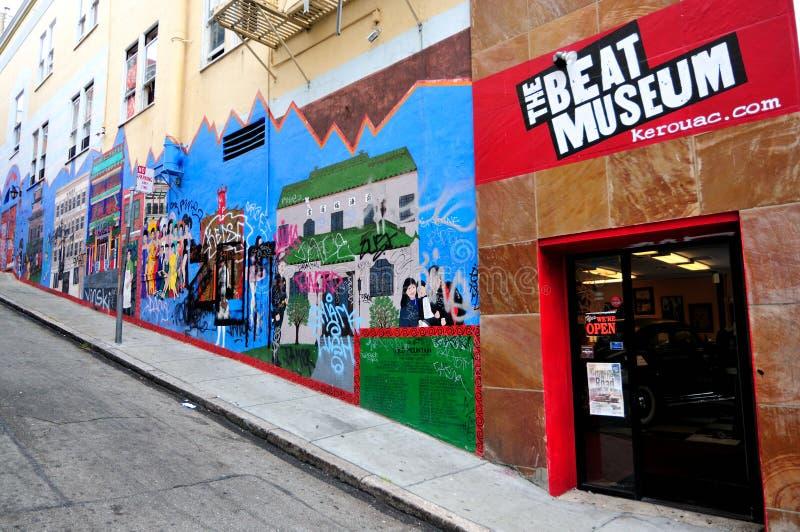 San Francisco et rétablissement de battement image libre de droits