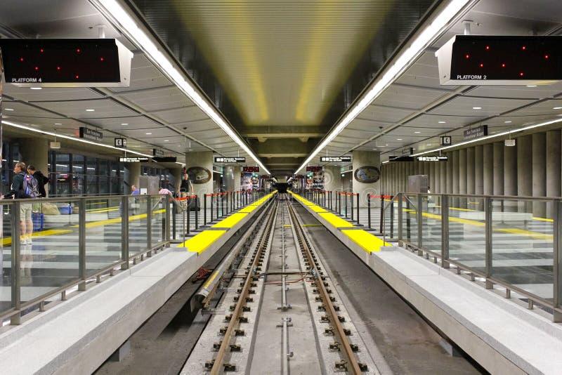San Francisco, Etats-Unis - 1er octobre : BART (transit rapide de région de baie) image libre de droits
