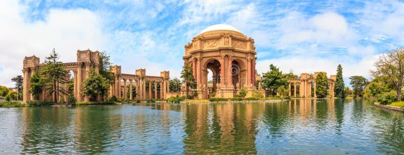 San Francisco, Exploratorium e palácio das belas artes fotografia de stock royalty free
