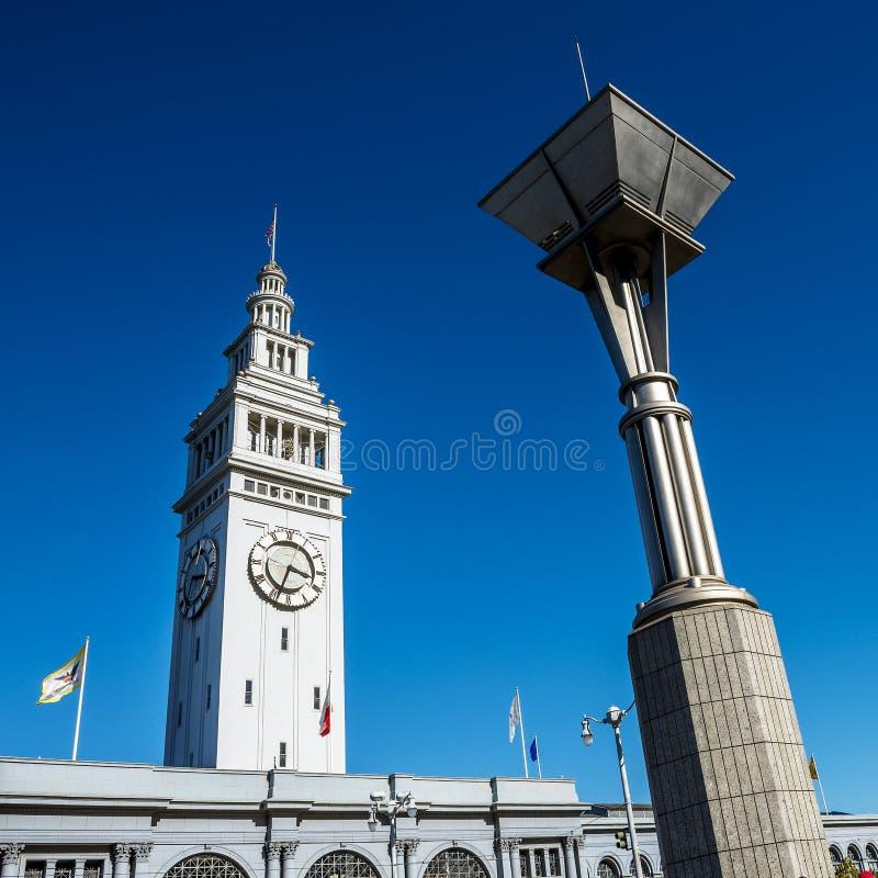 San Francisco Ferry Building fotos de archivo libres de regalías