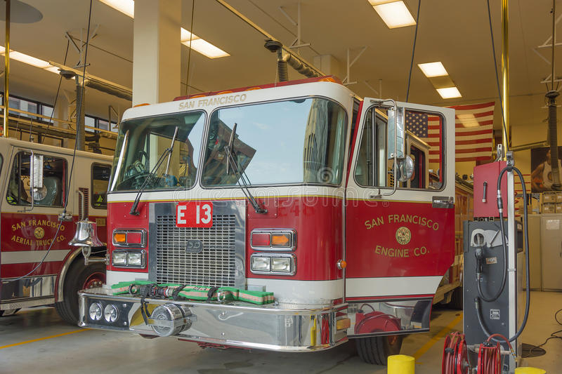 San Francisco Fire Department royalty-vrije stock foto's