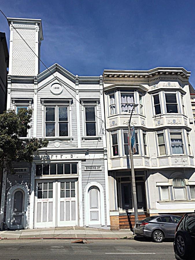 San Francisco Fire Department`s oldest surviving building, 2. stock photography