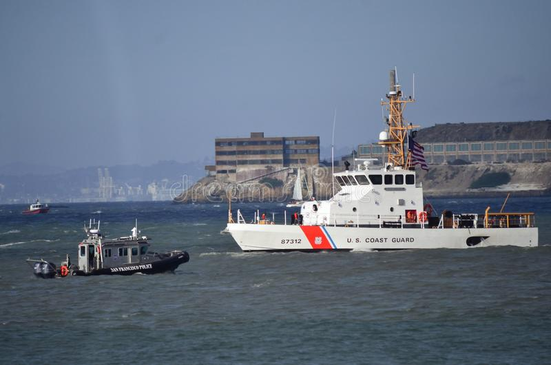 San Francisco Fleet Week 2014 royaltyfri bild