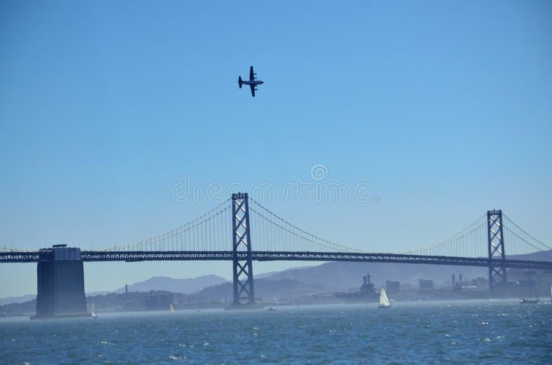 San Francisco Fleet Week 2014 royaltyfria bilder