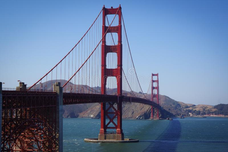 San Francisco Gate Bridge imagens de stock
