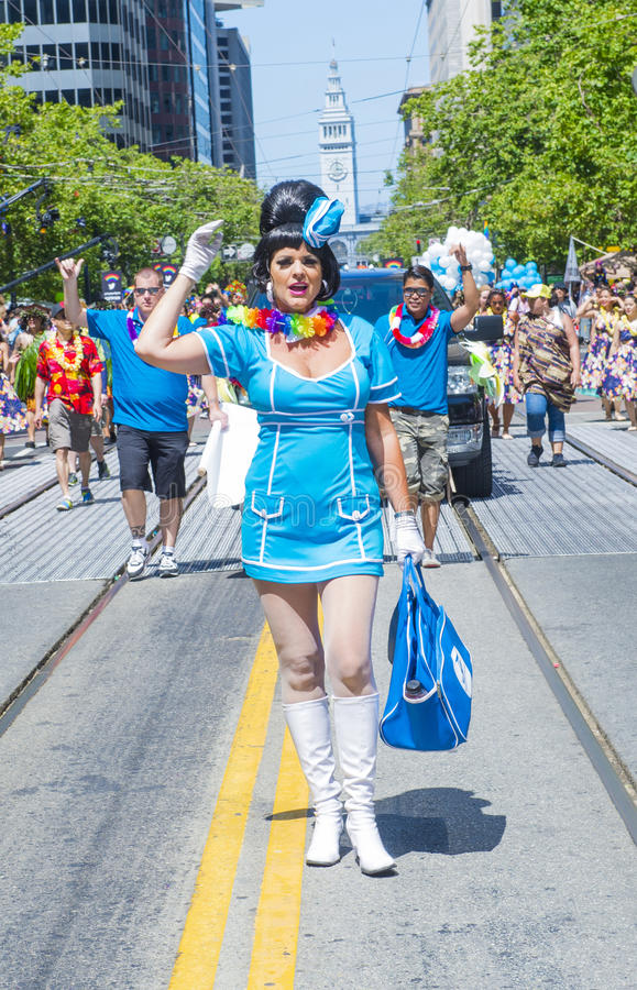 Download San Francisco gay pride editorial photography. Image of california - 33760482