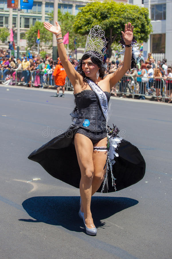 San Francisco Gay Pride Parade 2012 Editorial Stock Photo