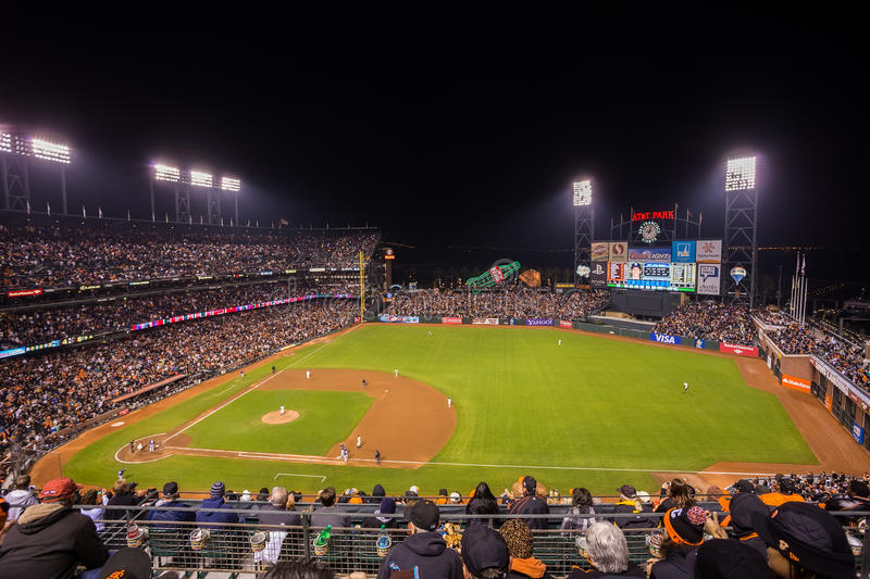 San Francisco Giants images stock