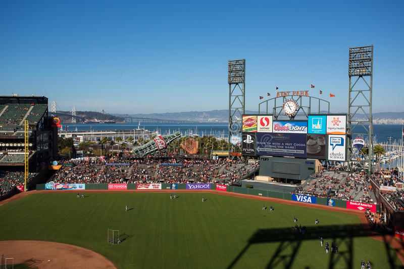 San Francisco Giants photographie stock libre de droits