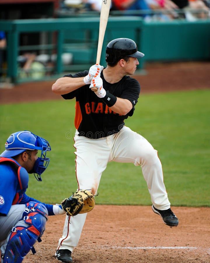 San Francisco Giants Catcher #28 Buster Posey fotos de stock royalty free