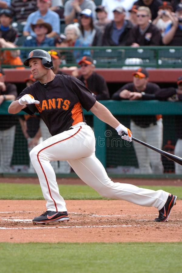 Pat Burrell. San Francisco Giants outfielder Pat Burrell royalty free stock images