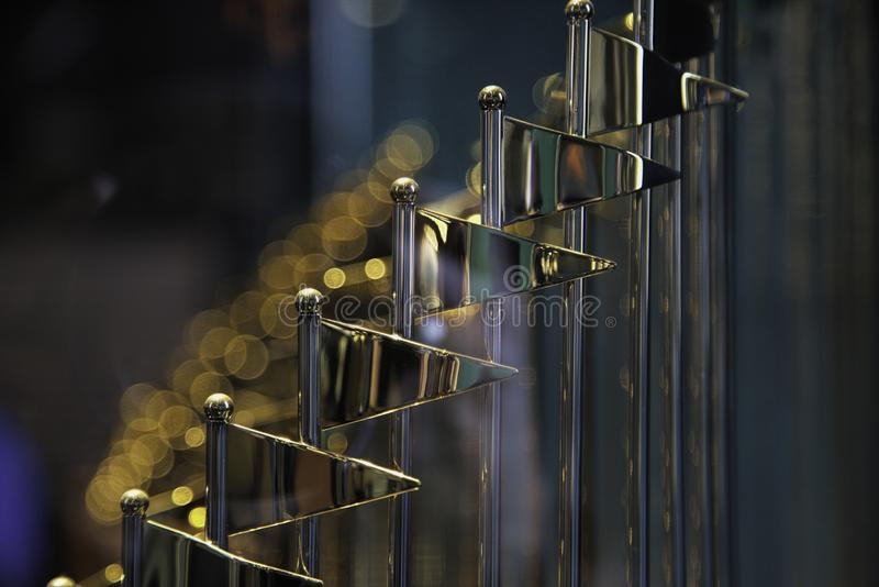 San Francisco Giants World Series Trophy immagine stock libera da diritti