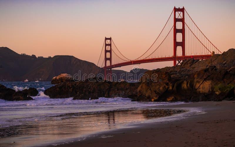 San Francisco golden gate bridge fotografia stock