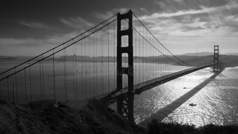San Francisco Golden gate bridge lizenzfreie stockfotografie