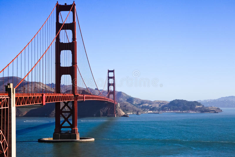 San Francisco - golden gate bridge photographie stock libre de droits