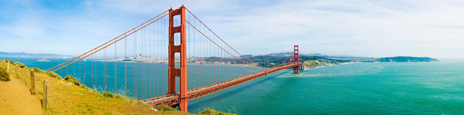 San Francisco golden gate bridge lizenzfreie stockbilder