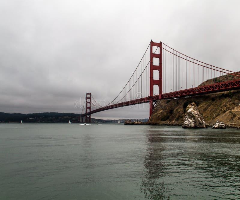San Francisco golden gate bridge royalty-vrije stock fotografie