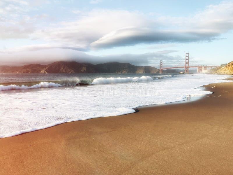 San Francisco Golden Gate Bridge in California USA stock photography