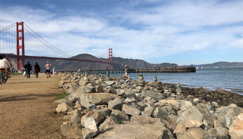 San Francisco Golden Gate - George Alcu arkivbilder