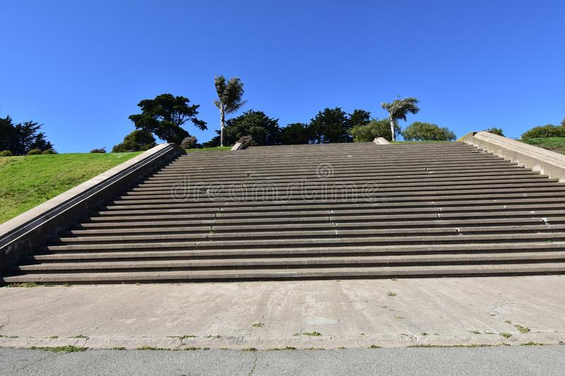 The movie damaged steps of Alta Plaza Park, 2. San Francisco has been the settings of movies, television shows and TV commercials ever since the beginning of stock photography
