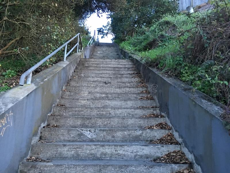 15Th Avenue steps, one of San Francisco`s smallest, UNofficial parks, 8. San Francisco has many beautiful, and well known, parks, as well as hills. There are stock images