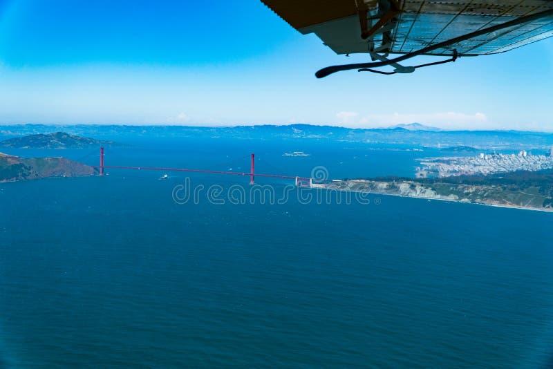 San Francisco horisont royaltyfri foto
