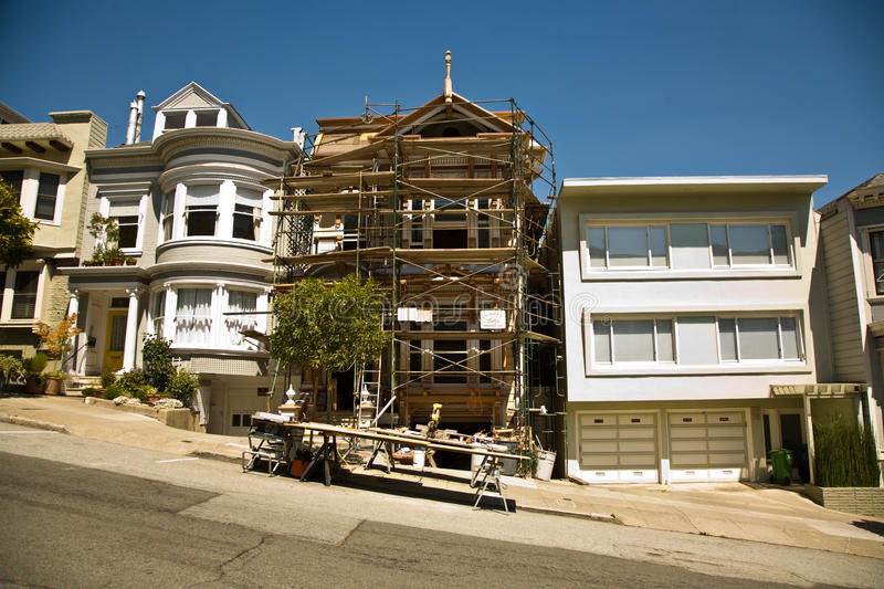Download San Francisco, House In  Framework Stock Photo - Image: 23714914