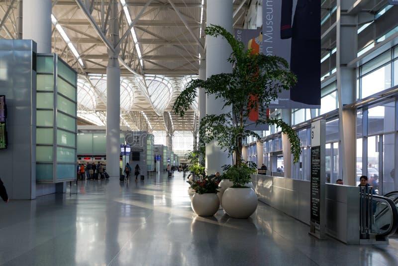 San Francisco International Airport, los E.E.U.U. foto de archivo