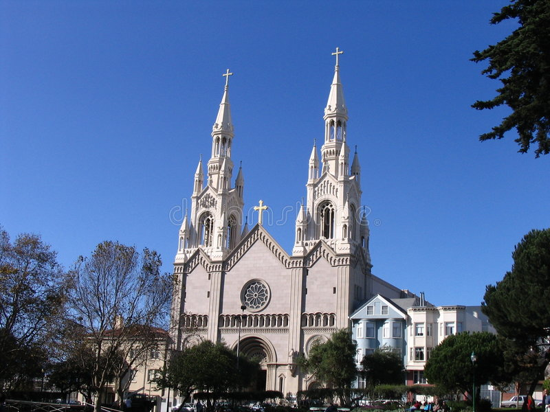 San Francisco - Kirche stockfotos