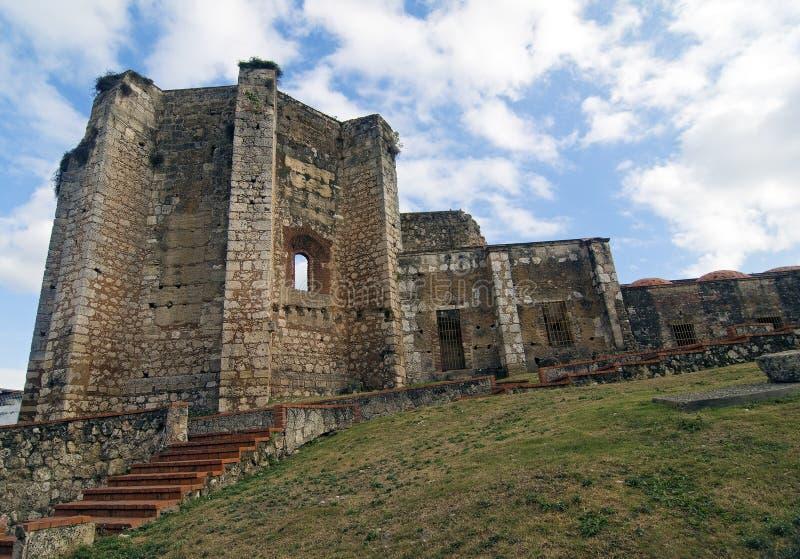 San Francisco Monastery, Dominican Republic royalty free stock image