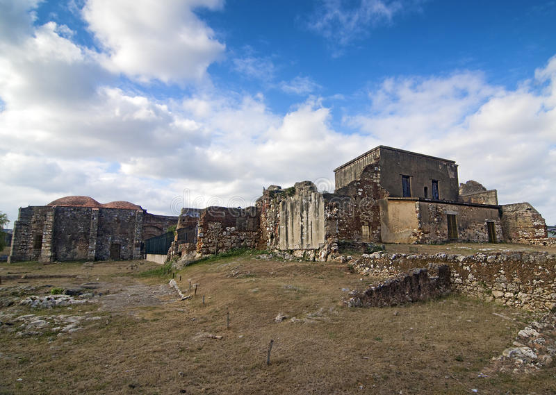 San Francisco Monastery Ruins stock image