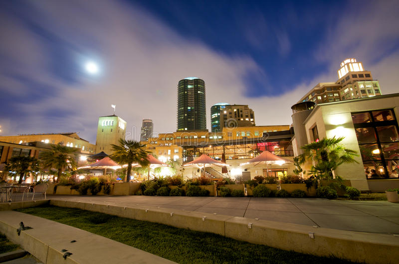San Francisco night life stock images