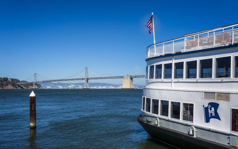 San Francisco, Oakland zatoki most –, San Francisco, Kalifornia, Stany Zjednoczone Ameryka, Północna Ameryka zdjęcia stock