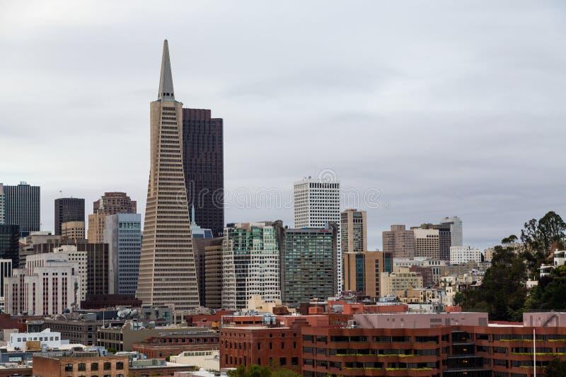 San Francisco Office Towers stock photos