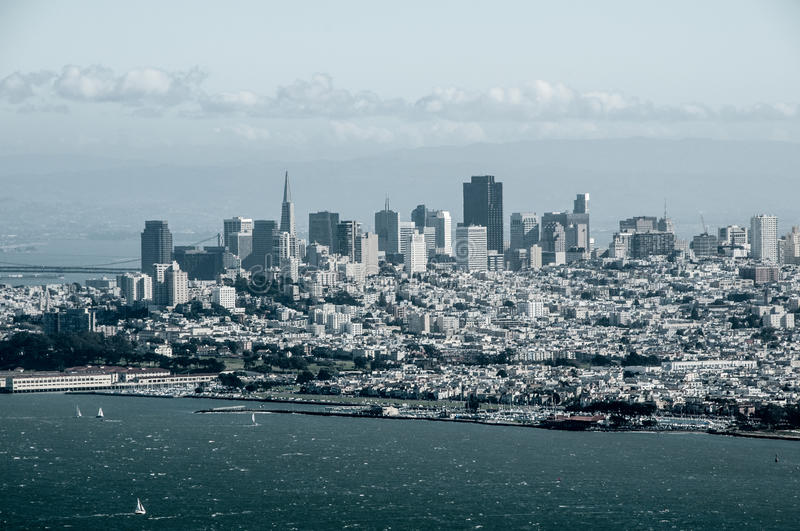 San Francisco Over Watch photographie stock
