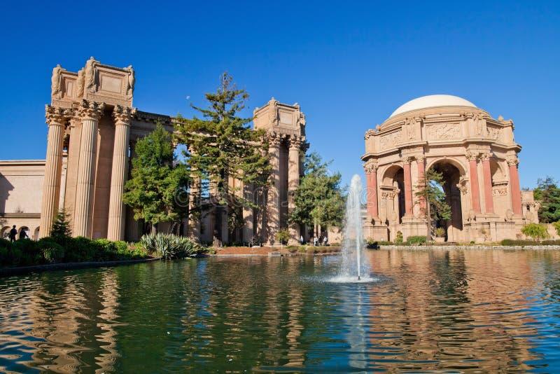 San Francisco - palais des beaux-arts photo stock