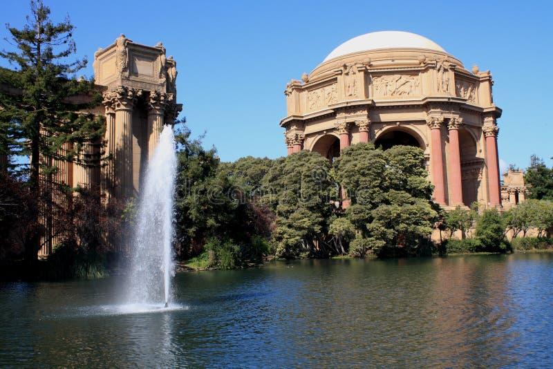 San Francisco, Palast von schönen Künsten III lizenzfreie stockbilder