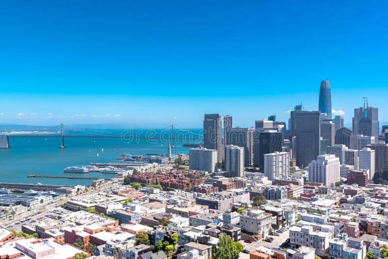 San Francisco, panorama imagem de stock